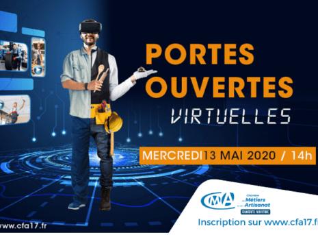 Portes Ouvertes live virtuel cfa charente maritime