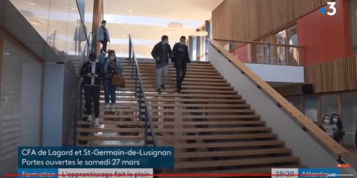 Article vidéo F3 CFA lagord