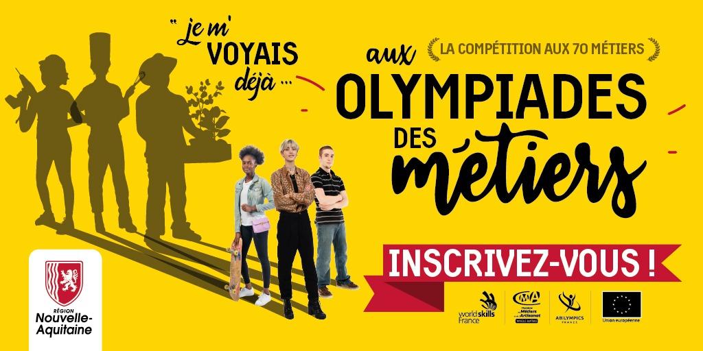 calendrier olympiades metiers 2022. Inscrivez-vous à la compétition aux 70 métiers.
